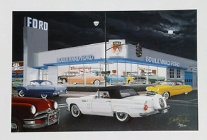 Ford dealership  Ltd edition print  by Dave Snyder