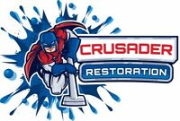 Flooded??? Crusader restoration can dry it for you