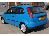 03 CHEAP FORD FIESTA 1.3 SERVICE HISTORY 3 DOOR 2 OWNERS px VAN yaris focus corsa Astra Clio