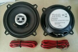 Pair of 4inch Warfdale car speakers