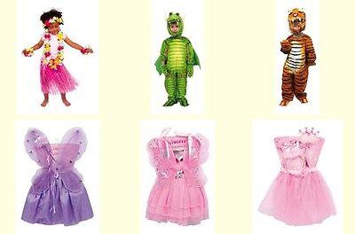 Neu Fasching Kostüm Karneval Kinder Prinzessin Fee Drachen Tiger Katze Hawaii - Tiger Kostüm