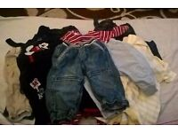 BOYS 3-6 MONTHS JEANS,JOGGERS AND DUNGAREES