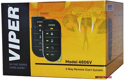 Viper 4806V 2-Way Responder LED Remote Start System with Keyless EntryViper 4806