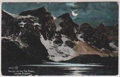 Canada postcard - Valley of the Ten Peaks, Laggan, Alberta
