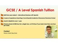 GCSE / A Level Spanish Tuition in Belfast