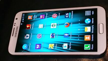 White Samsung  Galaxy  Note 2  4G unlocked GT - N7105T  16 GB Mansfield Brisbane South East Preview
