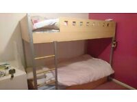 Bunkbed with trundle! £50 ONO
