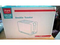 Argos double toaster