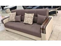TURKISH MALTA SOFA BED BRAND NEW 3 SEATER OR 2 SEATER NOW AVAILABLE