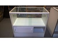 3 shop display retail counters / cabinets