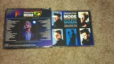 Depeche Mode Live Quad Disc Set CD Japan Tour Some Great Reward 1985