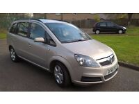 VAUXHALL ZAFIRA CLUB AUTOMATIC 7 SEATER