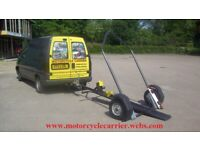 MOTORCYCLE TILT/COLLAPSIBLE TRAILER 1
