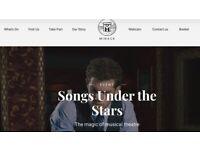 TONIGHT: 1x Minack theatre ticket: Songs Under the Stars, Sunday 5th @ 7.30pm