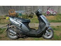 SYMJET EURO X 50CC SCOOTER 05 REG GOOD RUNNER MOTED READY TO GO