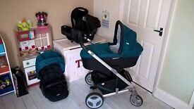 Joie 3-in-1 Travel System - Good Condition