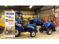 NEW SOLIS 20 TO 90 HP TRACTORS 3 YEARS WARRENTY FINANCE AVALIBLE PX WELCOME LOOK FREE UK DILIVERY !!