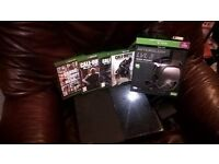 x box console and games gta and afterglow lvl 3 head set, no pad