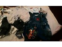 0-3 BABY BOYS JEANS,JOGGERS AND DUNGAREES