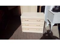 large cream chest of drawers - free delivey