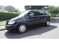 Vauxhall Zafira 1.6 petrol 7 seater