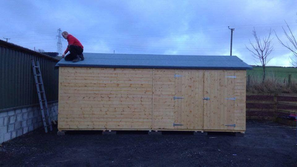 20ft x 10ft wooden garden shed - Garden Sheds Gumtree