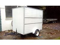 BOX TRAILER WITH ROLLER DOOR FOR SALE