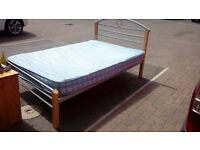 double bed and mattress - free delivery