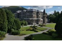 Lake District Hotel looking for Waiters and Bar Staff - live in available - would suit couples