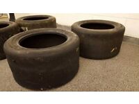 F1 Sidecar Slick Tyres - ideal to make man cave coffee tables, stools, etc
