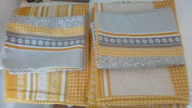 Two brand new, opened, but unused single duvet covers and matching pillow cases