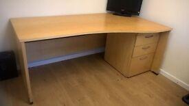 Office Desk plus filing Cabinet