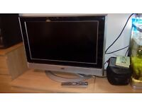 jvc 26 inch flat screen tv - free local delivery available