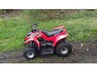 Aeon mini 50cc Rev an go 2stroke Starts first second kick also