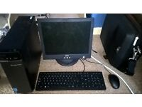 Great Desktop PC w/ Monitor Keyboard and mouse Used for gaming