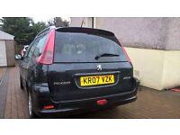 PEUGEOT 206 1.4 HDI ESTATE CAR , 2007, £30 ROAD TAX