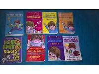 Horrid Henry books.