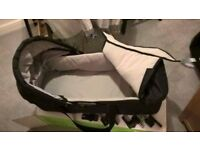 Baby jogger carry cot for pram