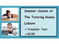 The Tutoring Rooms Lisburn Transfer Test (11+/AQE/GL), GCSE revision Classes(Maths English sciences)