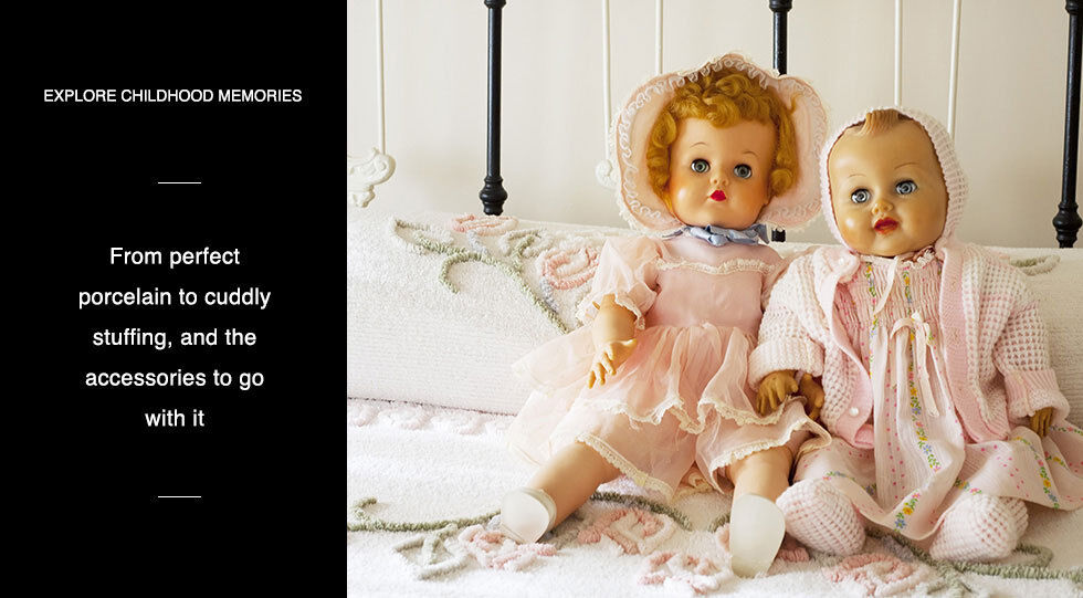 Explore Childhood Memories   Shop All Dolls & Bears