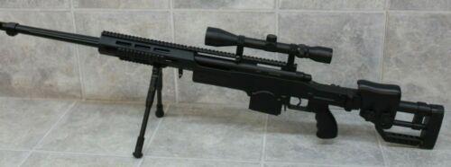 Refine MB4411 Bolt Airsoft Sniper Rifle Toy Orange Tip w/ Scope & Bipod