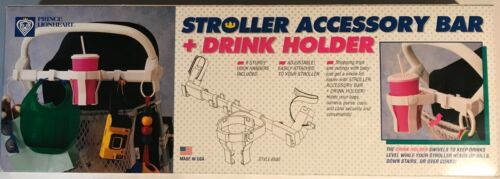 Prince Lionheart - Stroller Accessory Bar + Drink Holder- Great Condition