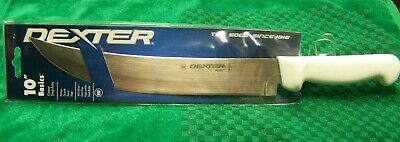 """DEXTER RUSSELL BASICS P94826 10"""" CIMETER BUTCHER SLICING STEAK CHEF KNIFE NEW"""