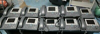 Lot Of 12 Cisco 7945 Ip Phone Cp-7945 Office Phone ----- Z16