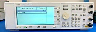 Agilent Hp E4420b Rf Signal Generator 2 Ghz Calibrated Warranty