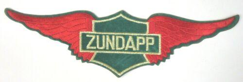 "giant ZUNDAPP WINGS Motorcycle 13.5"" jacket back patch UNUSED"