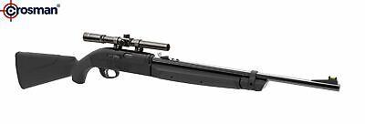 Crosman Legacy 1000 Dual Ammo .177 Caliber Air Rifle With Scope CLGY1000KT