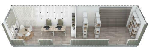 Shipping Container Office / Storage - Custom Designs - From $19900