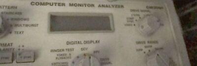 Sencore Computer Monitor Analyzer Cm2000