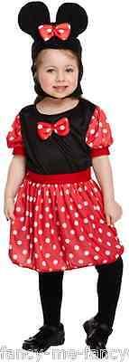 Kleinkind Mädchen 3-tlg. Niedlich Cartoon Tv Maus Kostüm Kleid Outfit 3 Jahre